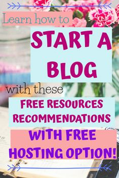 Do you want to start blogging? No worries! Here you have a guide on how to start a MONEY MAKING blog when you have no budget. Free Resources + FREE HOSTING! Start your own blog now! No excuses. Here are FREE Resources and FREE Hosting. Make Blog, How To Start A Blog, How To Make Money, 90 Day Plan, Personal History, Free Email, Blog Planner, Free Courses, Health And Fitness Tips