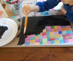 scratch paintings