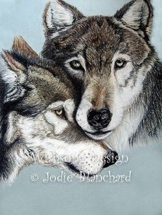 "Nature Animal Wolf Painting "" Wolves "" 5 x 7 Print, wildlife painting, room decor. $12.00, via Etsy."