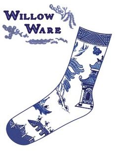 Willow Ware Pattern Cover Willow Pattern, Hearth And Home, Blue And White China, China Patterns, White Outfits, Knitting Socks, Chinoiserie, My Favorite Color, Shoe Boots