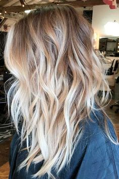 Gorgeous dirty blonde hair color, would look great as natural highlights on a dark brown base. #Blondehighlightsondarkhair