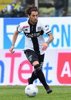 Jacopo Dezi of Parma Calcio in action during the serie B match between Parma Calcio and Ternana Calcio at Stadio Ennio Tardini on May 1 2018 in Parma...