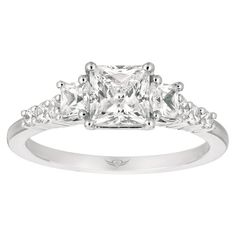 Martin Flyer Vintage Princess Cut: I've always had a thing for vintage and this is perfectly simple and elegant. It is something I would be so proud to have on my finger from the man I love