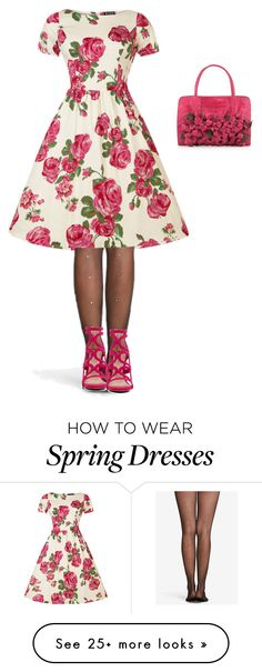 """Spring is here!"" by cleocatra403 on Polyvore featuring Rene and ALDO"