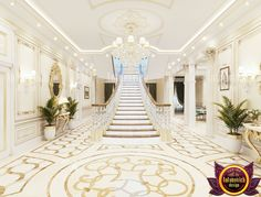 Marble panels are distinguished by sophistication and refinement. It fits into any interior, it can be done when facing surfaces in residential and commercial premises. Contact us for more information Stairs Design, Home Room Design, Modern Luxury Interior, Decor Design, Luxury Interior, Gorgeous Flooring, Dream Decor, Floor Design, Luxury House Designs