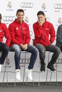 Cristiano Ronaldo con JR#10