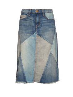51 Ideas For Patchwork Denim Skirt Outfit Denim Skirt Outfit Summer, Skirt Outfits, Denim Patchwork, Patchwork Dress, Vintage Skirt, Vintage Denim, High Waisted Denim Skirt, Denim Skirts, Waist Skirt