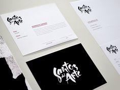 Santos del Arte Brand Identity Design by PUPILA ESTUDIO |