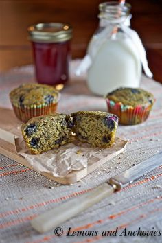Blueberry Quinoa Muffins