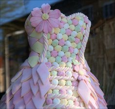 Incredible! #marshmallow #dress