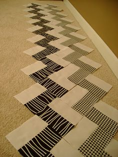 chevron quilt with patterns