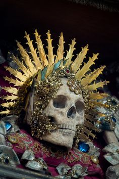 """""""Some of the church members agreed with Koudounaris' wish to restore the skeletons, not so much as devotional items but as pieces of local history"""" -SMITHSONIAN."""