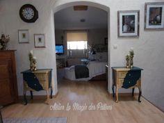 Mobilier relooké a vendre. Shabby, Artisanal, Antique Furniture, Atelier