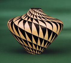 Bill Ooms work, inspired by Native American pottery.