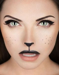 55 Halloween Makeup Ideas to Try This Year via Brit + Co