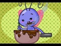 Mariposita - video de canción infantil para bebe y niños    Mariposita esta en la cocina  Haciendo chocolate  Para la madrina  Poti poti  pata de palo  ojo de vidrio  y nariz de guacamayo -yo