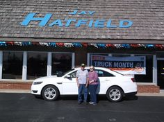FRANCIS's new 2015 FORD  TAURUS! Congratulations and best wishes from Jay Hatfield Ford and David Harrison.