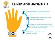 VibyGo is committed to taking care about the health of those who choose sports and let technologies assist them. Here is how we illustrate VibyGo's impact on your health. Ready to explore more? Subscribe to our newsletters at www.vibygo.com and get the hottest news right to your email box.