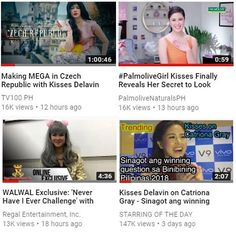 Filipina Actress, Lucky 7, May 1, Trending Videos, Pinoy, Beauty Queens, Kisses, Commercial, Challenges