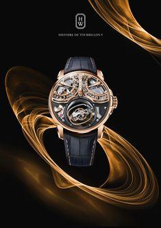 TimeZone : Industry News » BASELWORLD 2018 - Harry Winston Histoire de Tourbillon 9 Big Watches, Sport Watches, Cool Watches, Casual Watches, Harry Winston, Richard Mille, Vintage Watches For Men, Luxury Watches For Men, Patek Philippe