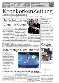 Kronkorken-Bettel-Zeitung Nr. 1  Wir sammeln Kronkorken für die gute Sache und freuen uns über Helfer und Unterstützer! Danke! http://www.kirche-geht-mit-menschen.de/spenden/wertstoffwaggon/kronkorken/