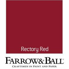 Farrow and Ball Eco Full Gloss Paint - No. 217 Rectory Red - 750ml from Homebase.co.uk