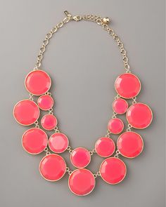 kate spade new york baublebox bib necklace - Neiman Marcus