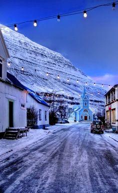 Seydisfiordur, Iceland | by PatiMakowska on DeviantArt