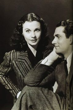 """""""I never thought it was possible to love anybody so much or quite so completely, or that anybody should be so wonderfully abundant and prodigal to me in everything I've wanted most. As we have settled down and become firmer in our minds, and more peaceful in our hearts, our life together has become so unbelievably beautiful."""" - Laurence Olivier on Vivian Leigh"""