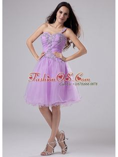 2013 Popular One Shoulder Prom Homecoming Dress Lavender Appliques and Ruched Bodeice-   http://www.fashionos.com  where to buy prom dress | online prom dress store | strapless prom dress | sweetheart neckline prom dress | prom dress in lavender | one shoulder cocktail dress | how to get pretty mini-length dress for 2013 | dress shops vintage dresses | dresses for prom | sweetheart strapless cocktail dress |  A special day calls for a special dress and this one is sure to suffice.