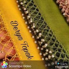 er, fillet crochet lace trim linear or turning edge Crochet Boarders, Crochet Lace Edging, Crochet Coat, Bead Crochet, Crochet Patterns, Fillet Crochet, Crochet Flower Tutorial, Bead Sewing, Tatting Lace