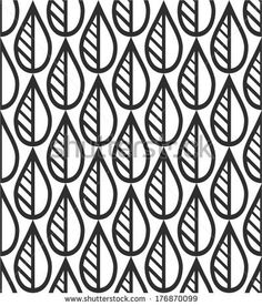 The Geometric Pattern. Seamless vector background. Black And White Texture. - 176870099: Shutterstock