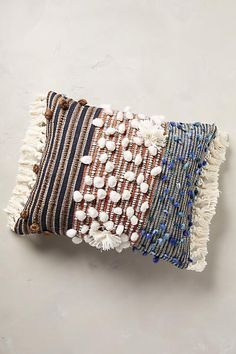 Collaged Majida Pillow - anthropologie.com