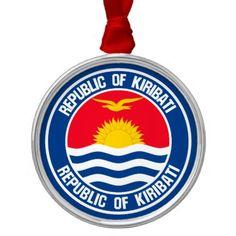 Shop Kiribati Round Emblem Metal Ornament created by KDR_DESIGN. Kiribati Flag, Political Events, Anatomy Drawing, Wedding Invitation Wording, Family Memories, Activity Games, Baby Shower Games, Business Supplies, Flags
