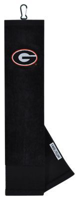 Team Effort NCAA Face/Club Embroidered Golf Towel - University of Georgia