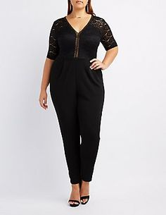 Plus Size Jumpsuits & Rompers   Charlotte Russe