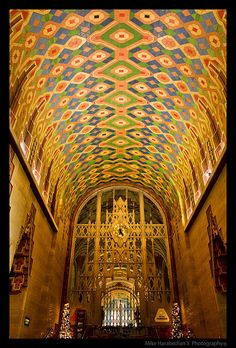Pewabic tile, Guardian Building, Detroit. I worked in this building. Love it.