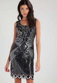 Vêtements Molly Bracken Robe de soirée - silvery black noir: 59,95 € chez Zalando (au 01/11/17). Livraison et retours gratuits et service client gratuit au 0800 915 207.