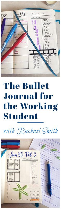 Life as a working student is hectic. There's homework, projects, and tests all on top of a work schedule - and that's not even counting a social life! Guest poster Rachael Smith discusses her struggles with balancing the craziness, and how she found effective organization in the bullet journal. She shares her techniques and tips for sorting out the chaos into a manageable schedule.