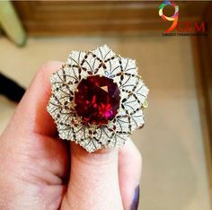 This captivating Ruby Ring is a lovely choice to accentuate your look.