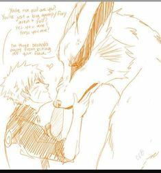 Kurama puts up with Naruto because of all Naruto did for him. Proof that Naruto is a better shinobi than a lot of others Naruto Uzumaki, Anime Naruto, Sharingan Kakashi, Naruto Comic, Naruto Cute, Manga Anime, Sasunaru, Naruhina, Narusasu