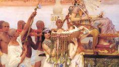 Pintores de la época victoriana Alma Tadema Música Schubert. Consuelo ...