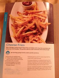 Weight watcher French fries - 4 pts plus