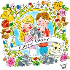 Amsterdam Images, Easter Illustration, Blond Amsterdam, Happy Easter, Special Day, Hand Lettering, Fans, Anime, Inspiration