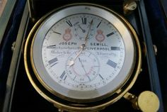 Ship's Chronometer Joseph Sewill Liverpool RMS SCYHTIA