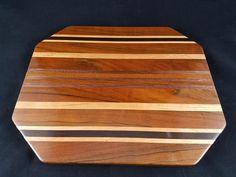 Beautiful long grain cutting board from www.clawsdesigns.com Wood Design, Butcher Block Cutting Board, Claws, Exotic, Boards, Beautiful, Planks, Tree Designs