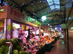 Marché Saint-Quentin - Paris   10e   Paris covered market