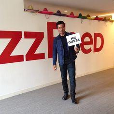 Visitando a mis amigos en #BuzzFeed #NY #ChayanneEnTodoEstare