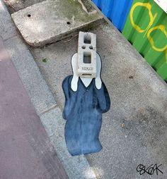 The Most Creative Graffiti and Street Art Ever Edvard Munch, Scream, Mr Brainwash, Le Cri, 2 Baby, Urban Intervention, Best Street Art, Call Art, Street Art Graffiti