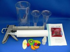 パフェ製作キット一式 - 食品サンプルの製造と販売 森野サンプル